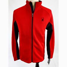 e2c6a47f63b79 Spyder Mens XL Racing Red Black Foremost Full Zip Stryke Jacket 71f64004-60