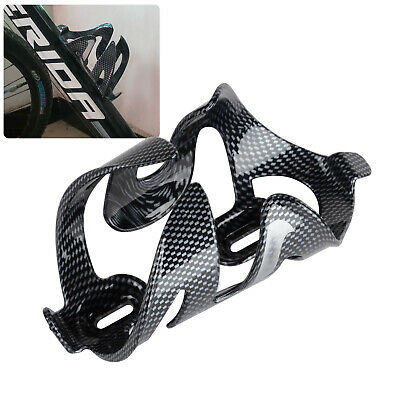 Cycling Bicycle Outdoor Carbon Fiber Water Bottle Drinks Holder Cages Rack #8Y