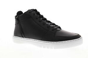 Creative Recreation Adonis Mid Mens Black Zipper High Top Sneakers Shoes