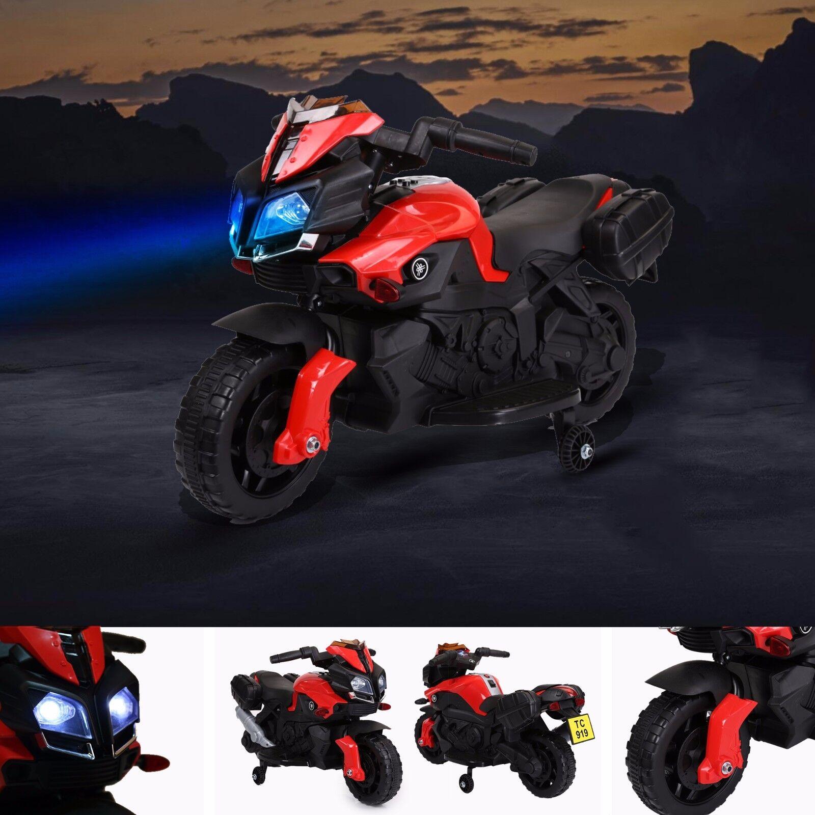 RiiRoo KTM Style Kids Electric Ride On Bike Motorbike Car Scooter Speed Bike 6V