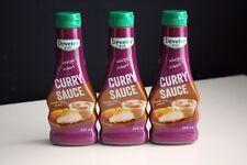 3 Flaschen Develey Curry Sauce 250ml Original McDonalds Mc Donalds BBQ Grillen