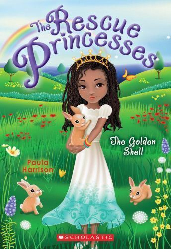 Rescue Princesses #12: The Golden Shell-ExLibrary