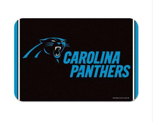 Carolina Panthers türmatte Tappetino DOOR Matt 75 CM, NFL Football, NUOVO