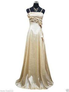 Robe-de-soiree-longue-ceremonie-mariage-T-36-a-62-BEIGE-Evening-dress