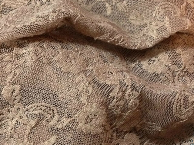 "High quality nylon spandex lace fabric 60"" Bridal/Crafts/Dress Fabric-15+ colors"