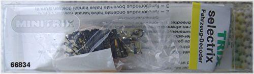 Trix 66834 veicolo-funzione decoder 4x200 ma  neu OVP