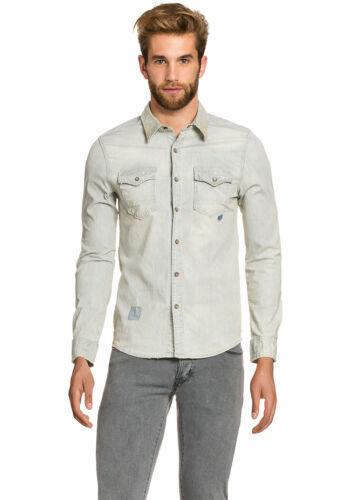 LTB Jeans Hommes Loisirs-Chemise City kentkragen DETERIORE poitrine sac Taille M S