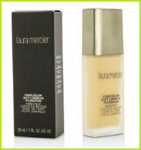 Laura-Mercier-Candleglow-Soft-Luminous-Foundation-Amber-30mL-Unboxed-NEW