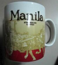 2013 STARBUCKS MANILA CITY MUG  16 OZ ASIA LIMITED EDITION *Calesa* PHILIPPINES