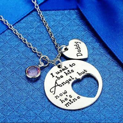 In Loving Memory of Memorial Loss Necklace Dad Father Daddy Love Keepsake New Uk