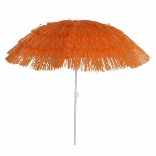 Bast-Sonnenschirm Strandschirm Hawaiischirm Gartenschirm Party Schirm Bastschirm