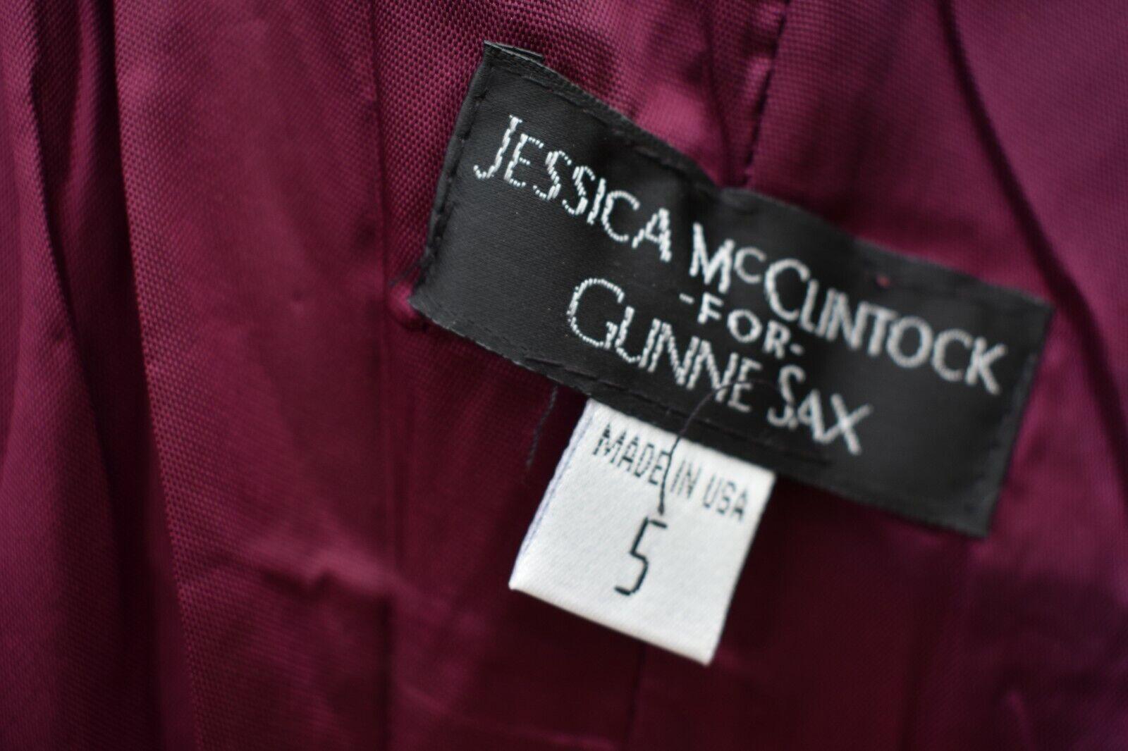 Vintage Gunne Sax Jessica McClintock prom dress f… - image 6