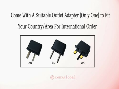 AC Power Adapter For Escali M136 M3315 M6630 Digital Kitchen Food Scale M-Series