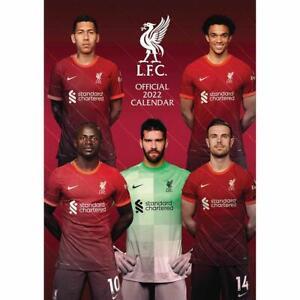 Liverpool A3 Wall Calendar 2022 (Official Merchandise) - Xmas / Secret Santa