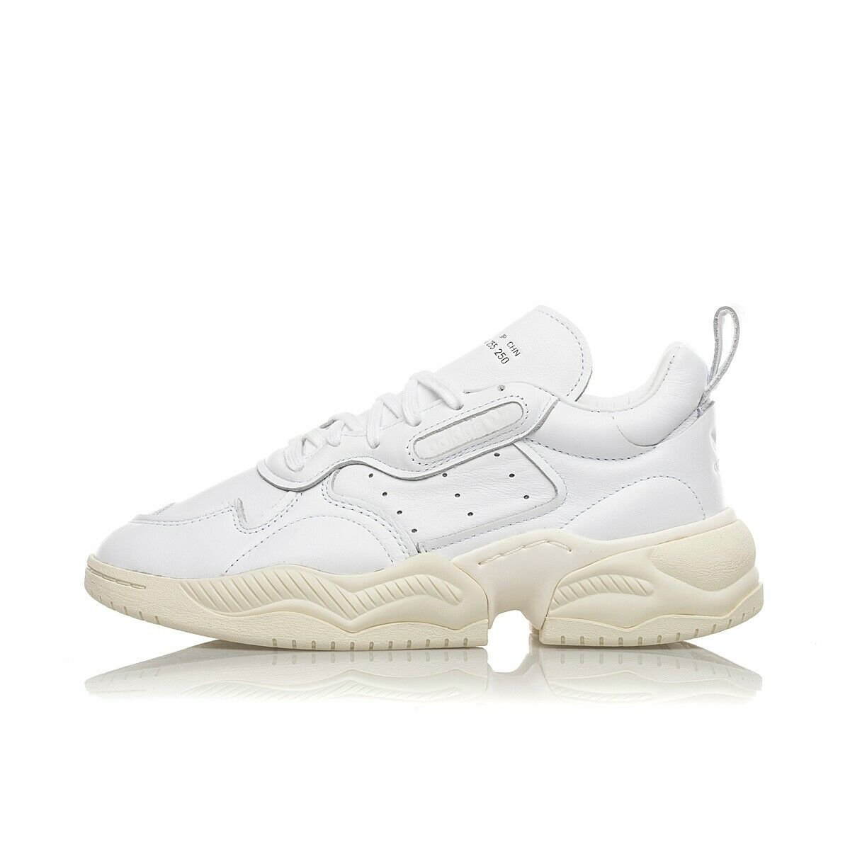 ADIDAS SUPERCOURT RX EF1894 lux pelle blanc limited home of classics unisex pre
