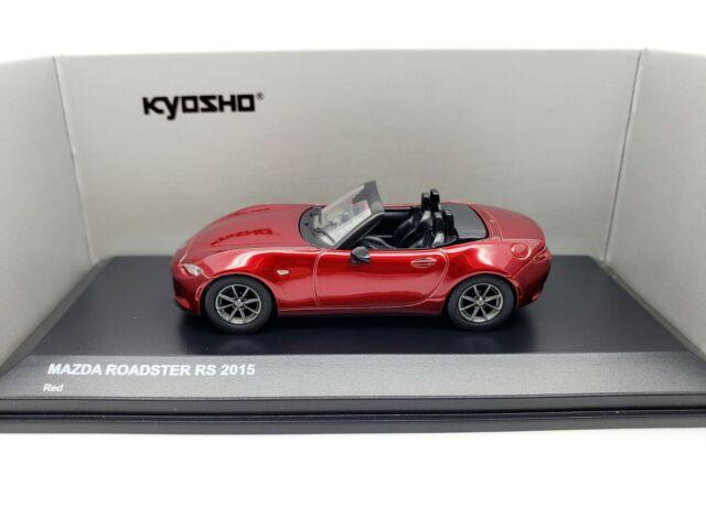 1:64 Kyosho Mazda Roadster RF RS MX-5 Miata 2015,2016,30th Anniversary Edition R