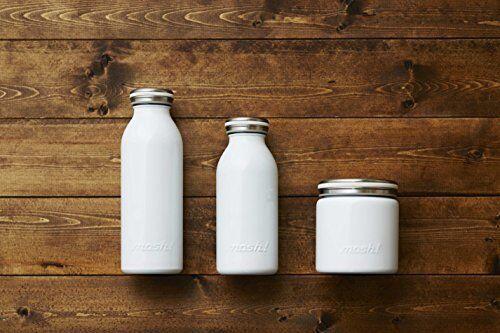 Nouveau Mosh bouteille d/'eau Vide Isolant Vis Tasse Bouteille 0.45 L Peach