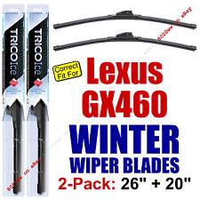 WINTER Wiper Blades 2pk Premium - fit 2010-2016 Lexus GX460 GX 460 - 35260/200