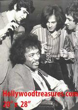 "Jimi Hendrix~Hair Salon~Keith Richards~Barber~Photo~Decor~Poster~20"" x 28"""