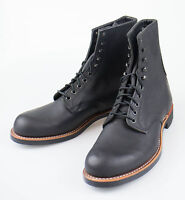 Red Wing 2944 Harvester Black Leather Ankle Boots Shoes Size 7 Us 6 Eu $350 on sale