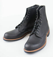 Red Wing 2944 Harvester Black Leather Ankle Boots Shoes 7.5 Us 6.5 Eu $350