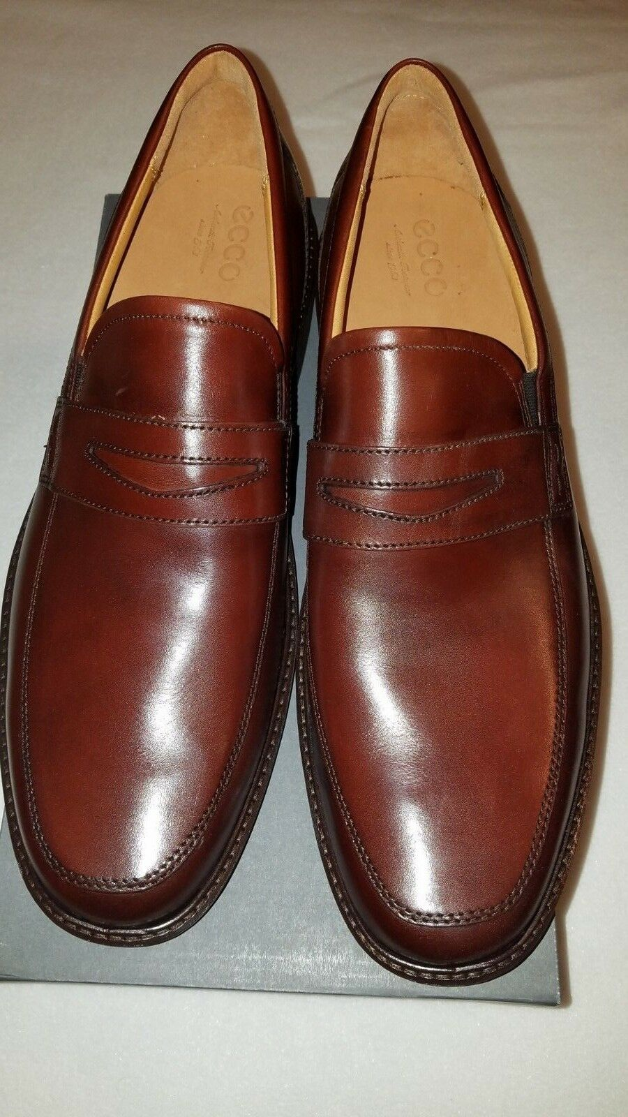 abeeded37d6 ECCO Men s Holton Penny Loafer Shoe 48 Eu 14-14.5 US Dressy Business ...