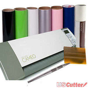 Silhouette-CAMEO-Electronic-Scrapbooking-Die-Craft-Cutter-Bundle-Vinyl-Tools