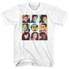 Saved By The Bell Cast Brady Bunch Photo Style Adult T Shirt 1990/'s TV Show