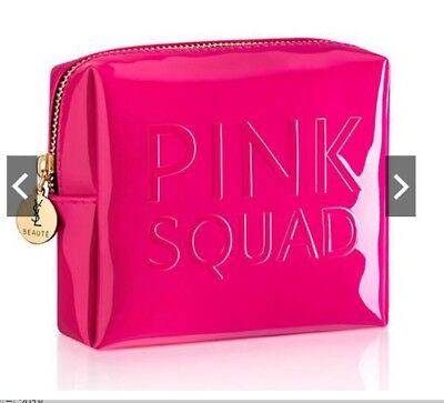Ysl Pink Squad Beauty Makeup Trousse Bag Small Coin Case
