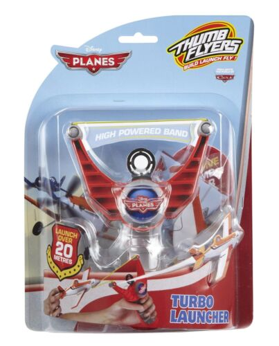 Thumb Flyers Turbo Power Launcher BNIP Official Disney PLANES