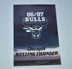 1986-87-NBA-Pocket-Schedule-Chicago-Bulls-Basketball