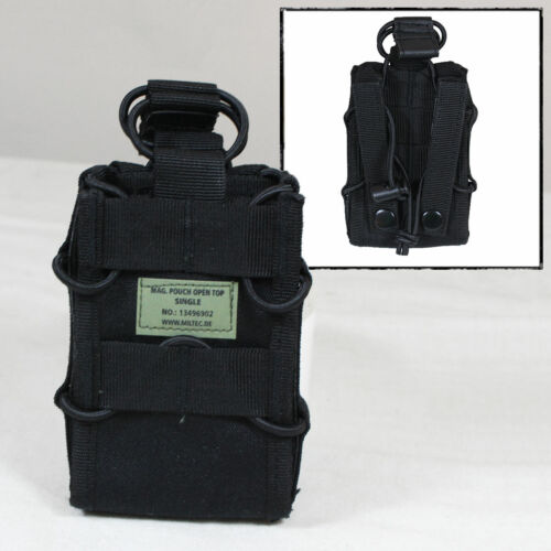Molle Polyester Open Top Single Magazine Pouch bag Paintballing Airsoft