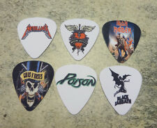 Rock band  SINGLE SIDED PICTURE GUITAR PICKS Set of 7