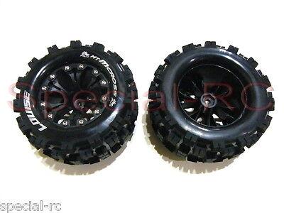 "Louise RC 1/10 MT Mcross 2.8"" tires 12mm hex 1/2 Offset wheels 2pcs #L-T3274SBH"