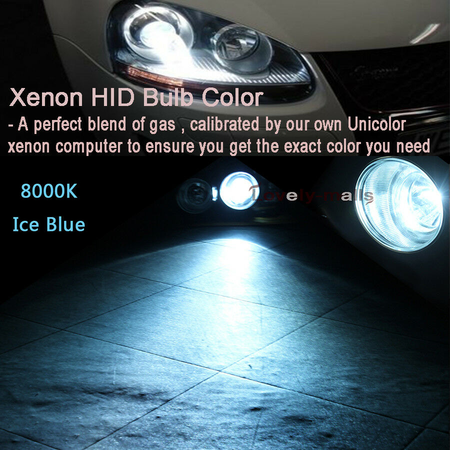 150W HID Xenon Hi//Lo beam Fog Light Bulbs Lamp H7 H4 H13 9007 9005 9006 D2S