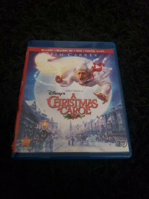 a Christmas Carol (3d 2d Blu-ray 2 Discs Region ) for sale online | eBay