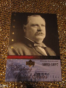 President-Grover-Cleveland-USA-History-Upper-Deck-Trading-Card