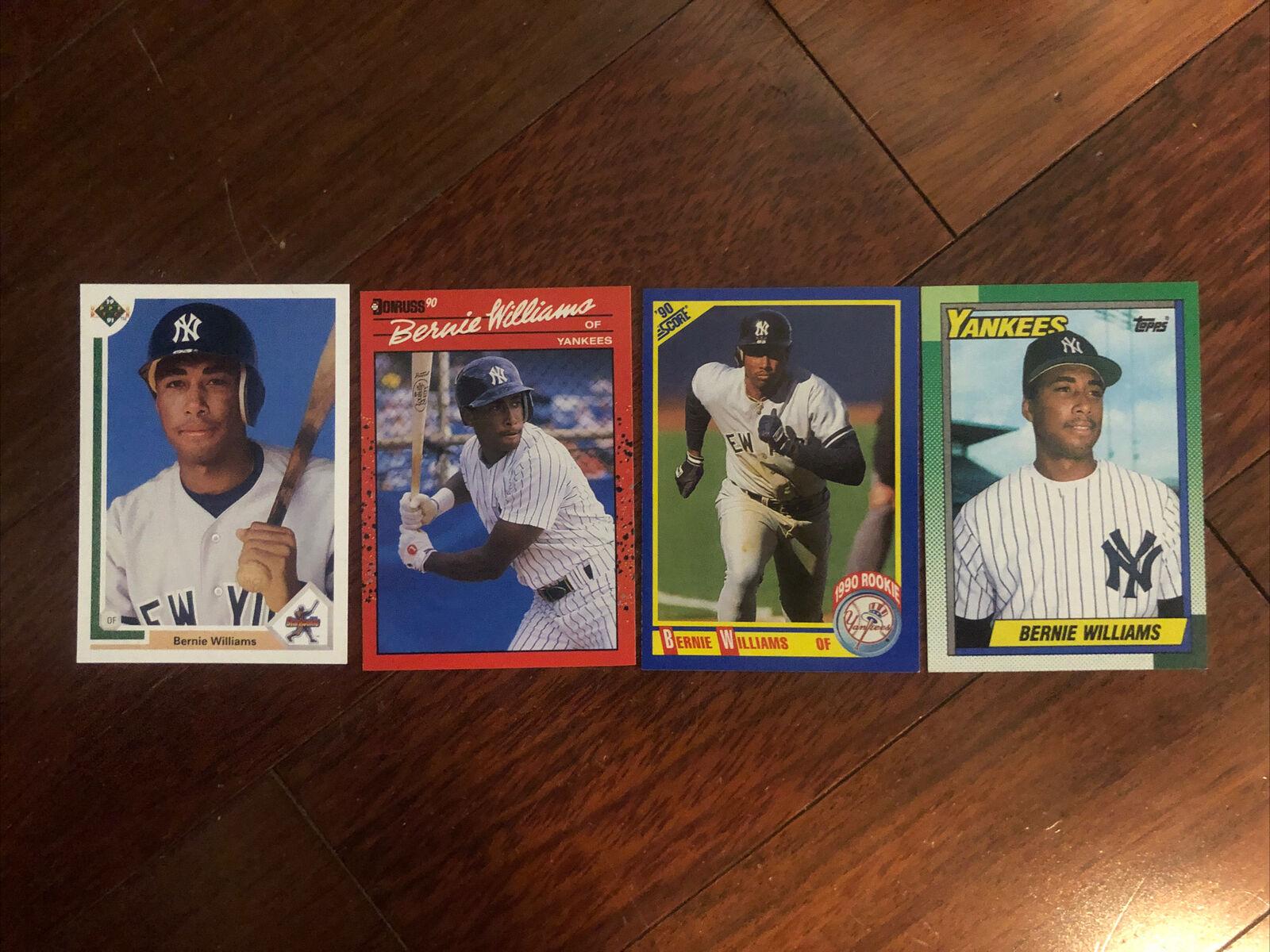 1990 Topps Baseball #701 Bernie Williams Rookie Card