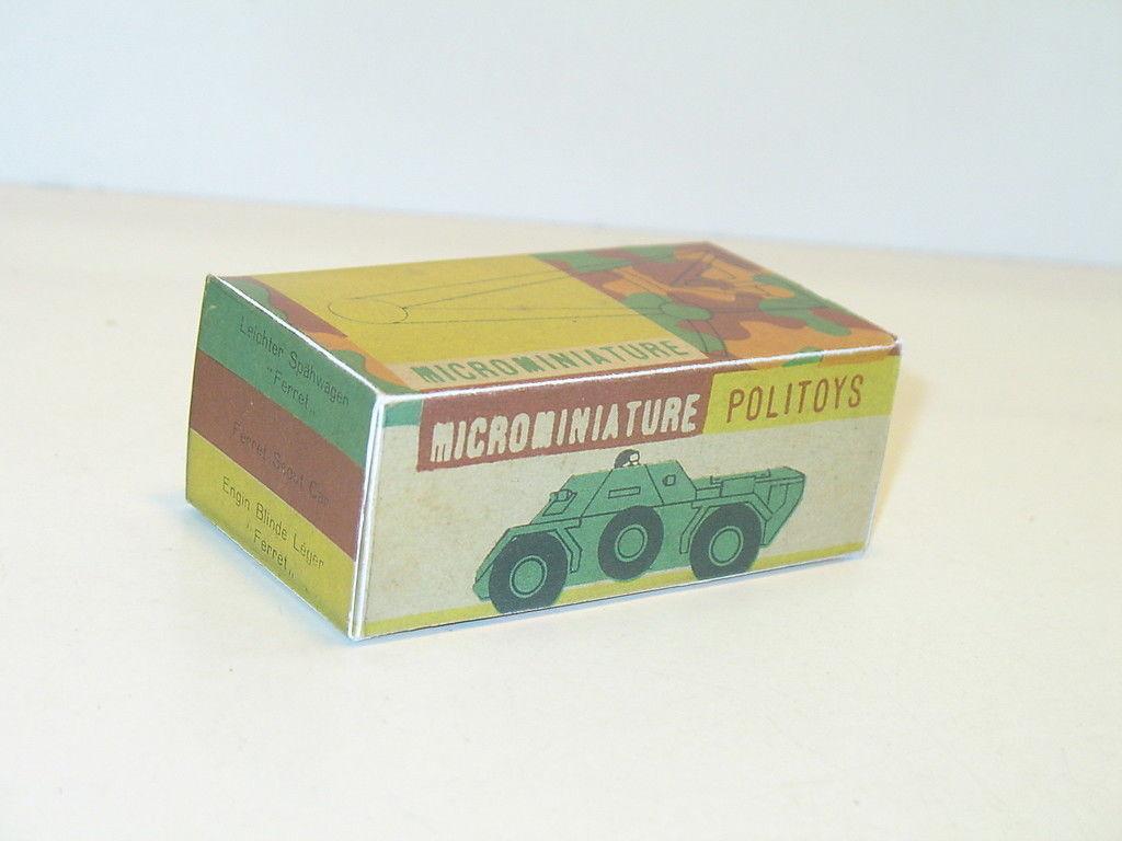 N107, BOX POLITOYS, autoblinda FERRET N10 military
