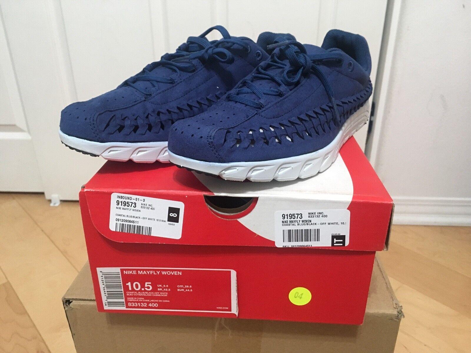 Nike Mayfly Woven Coastal bluee Men's size 10.5 Light Weight Comfortable