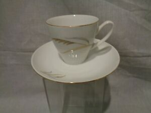 Wheatfield Bohemian Fine China Czechoslovakia Coffee Tea Cup Saucer 26 Ebay