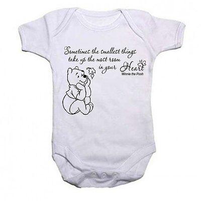 Yesterday Is History Winnie Pooh Quotierung Personalisiert Baby Strampler Body