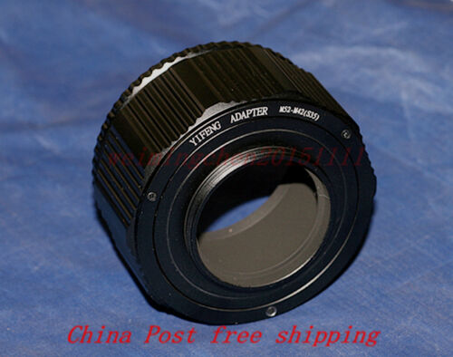 High-quality M52 to M42 Lens Adjustable Focusing Helicoid adapter 35mm~85mm
