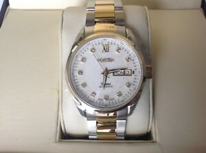 Roamer-men-039-s-automatic-mechanical-watch-stainless-steel-New-with-tags