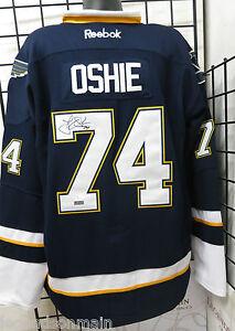 check out 6e47a 93cd2 Details about T.J. Oshie St. Louis Blues Signed Jersey USA ** JSA CERTIFIED  ** LOM (JSA54)