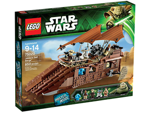 Lego STAR CLONE WARS 75020 Jabba's Sail Barge Ree-yees Leia R2 Navidad presente NISB