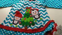 Baby Girl 2t Christmas Penguin Holiday Outfit Polka Dot Long Sleeve Shirt