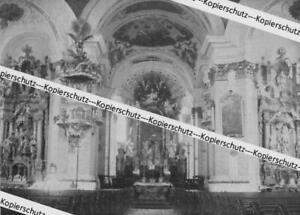 Murnau - Inneres der Kirche - Pfarrkirche - um 1915         Z 28-19