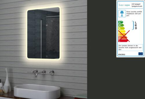 LED Beleuchtung Badezimmerspiegel Badspiegel Wandspiegel Lichtspiegel 60 x 80cm