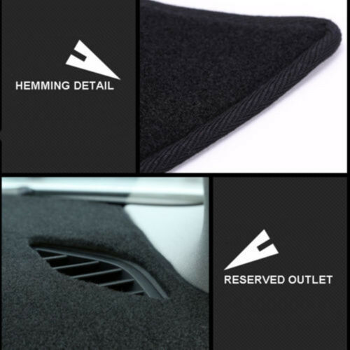 For Lexus IS250 IS300C Black Dashmat Dashboard Mat Dash Cover Sun Visor Pad
